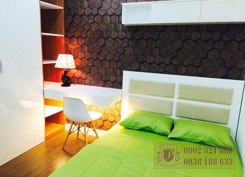 Cho thuê căn hộ The Prince 2 phòng ngủ - giường ngủ 2