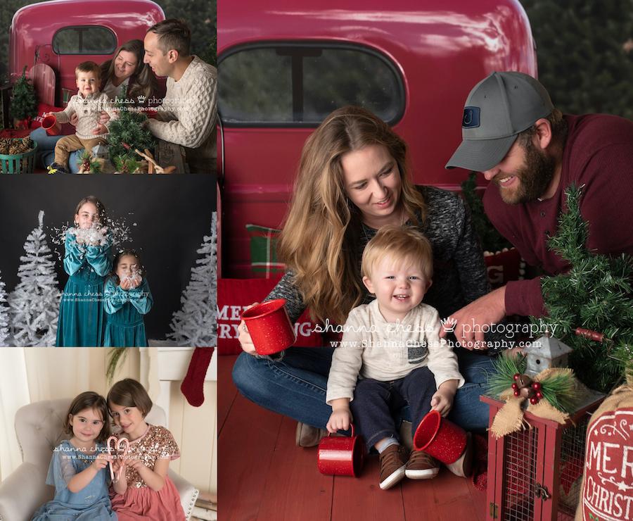 eugene oregon child and family holiday photographer