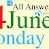 Telenor Quiz Today | 14 June 2021 | My Telenor App Today Questions and Answers | Test your Skills