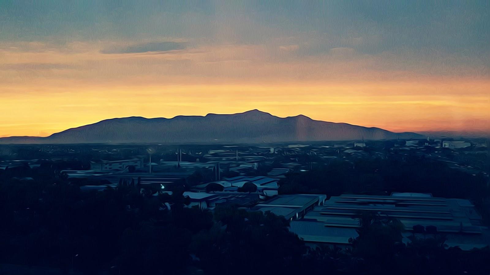 Sunset Gunung Jerai