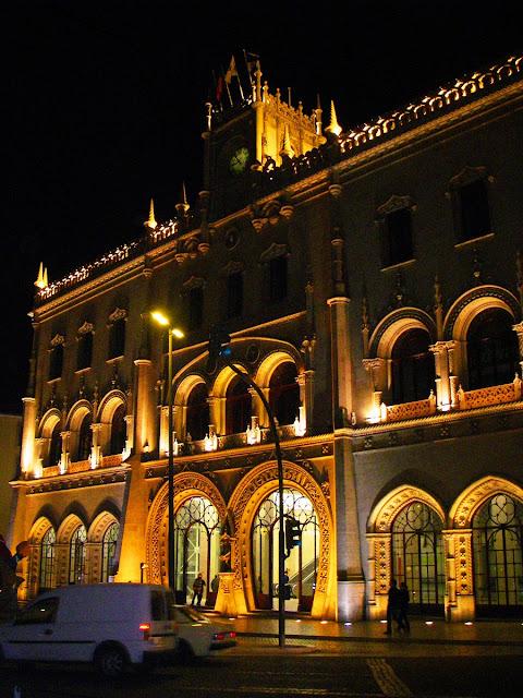 Lissabon - Rossio tågstation