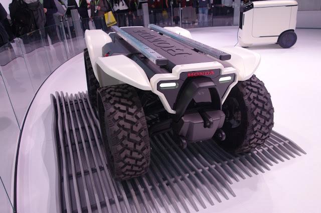 honda robot system 3E