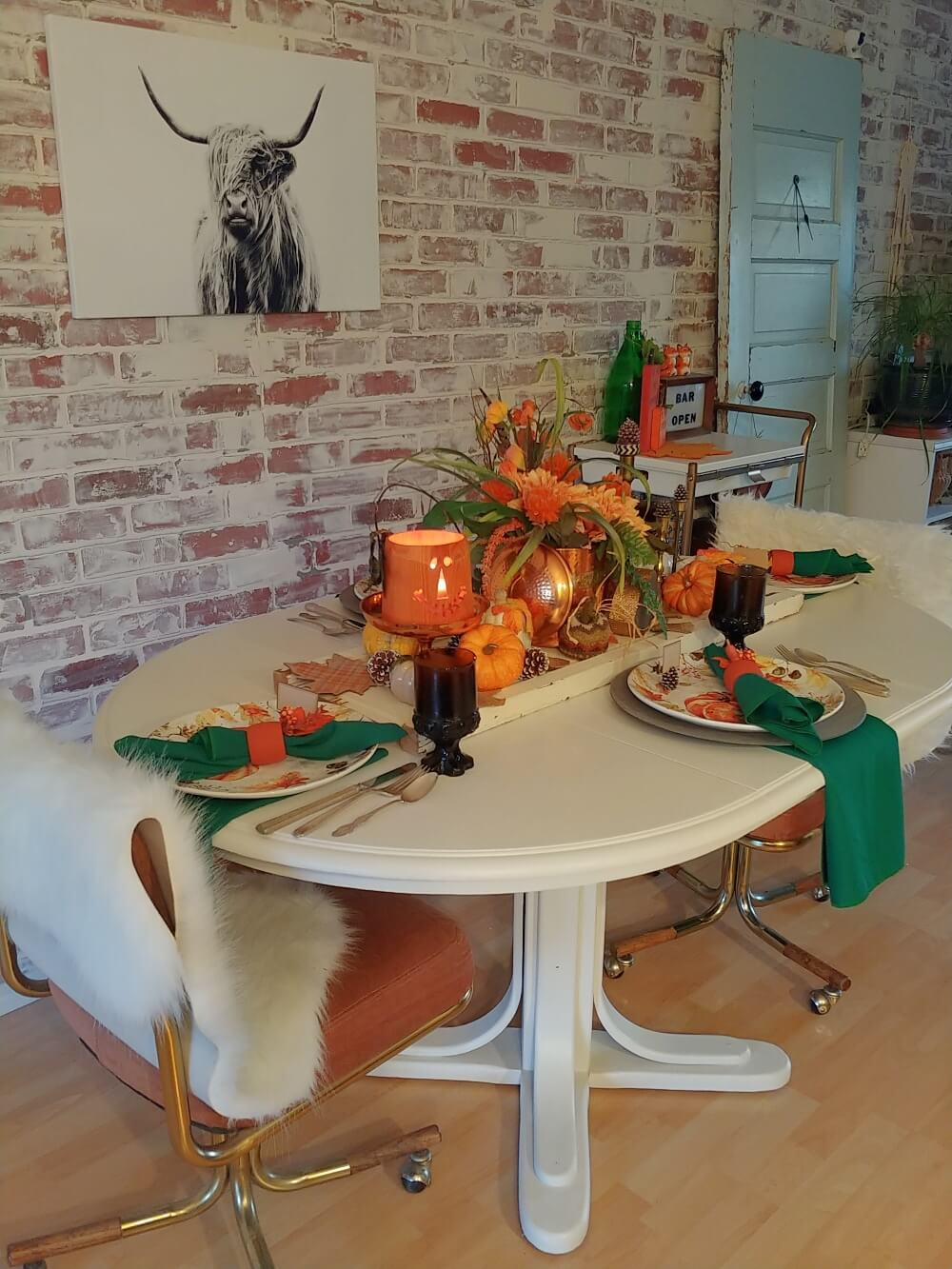 Spooky Season Versatile Fall Table Setting