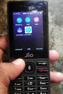 how to uninstall Facebook in jio phone