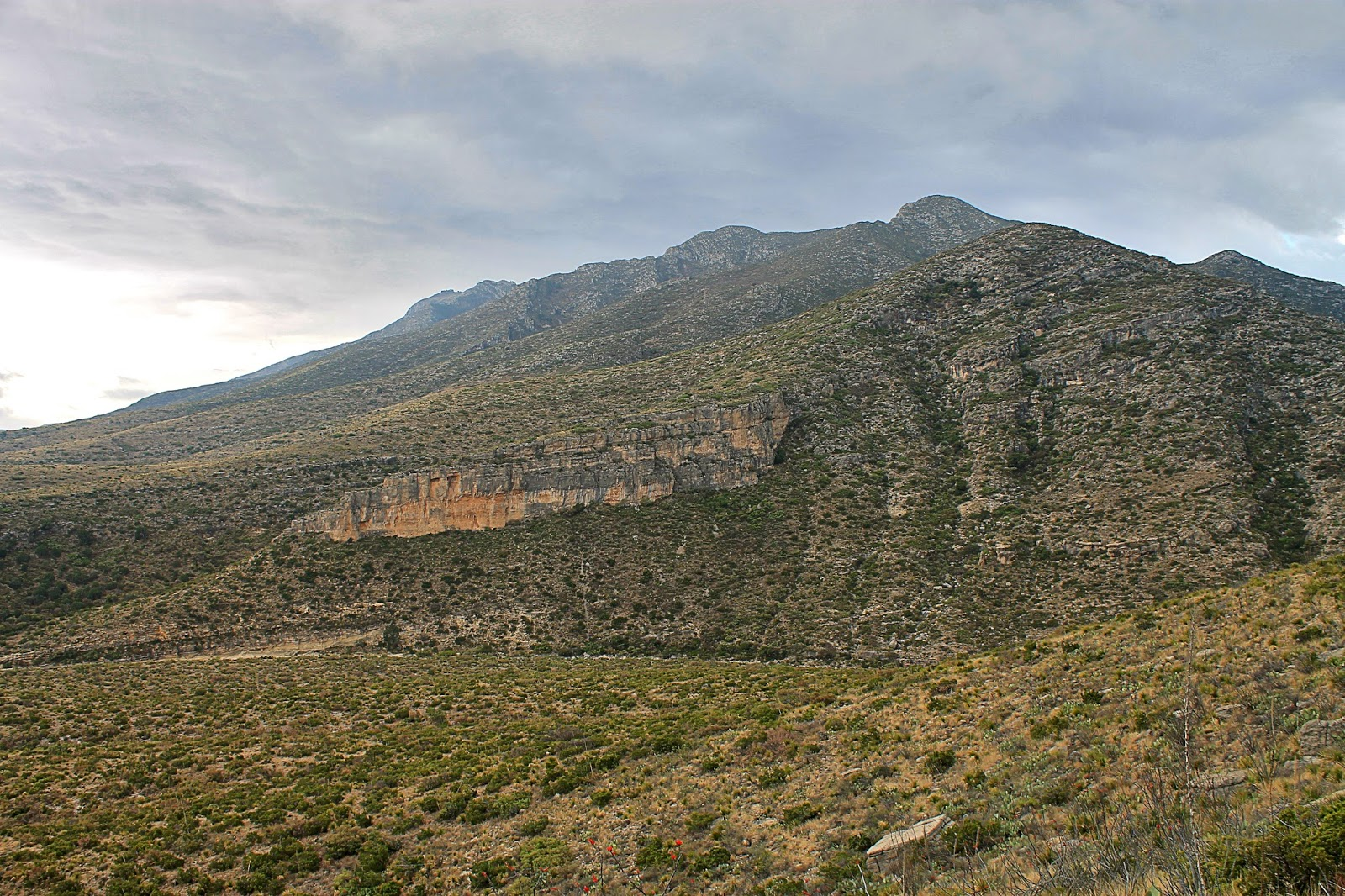 Guadalupe Mountains National Park Texas New Mexico McKittrick Canyon Queen Plateau Permian reef trail hiking fossils desert canyon copyright RocDocTravel.com