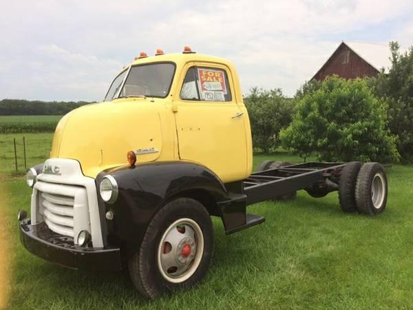 1952 gmc coe truck old truck. Black Bedroom Furniture Sets. Home Design Ideas