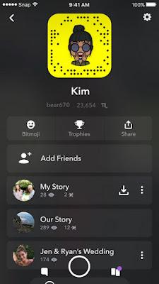كيفية استرجاع الإصدار القديم من سناب شات بعد التحديث الأخير Snapchat