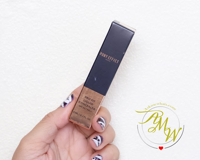 a photo of Pony Effect Pro Fit Liquid Concealer Review by Nikki Tiu of askmewhats.com