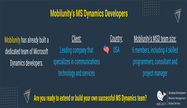 Microsoft Dynamics Developers in 2020 #infographic