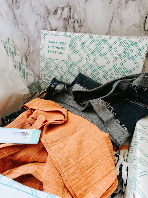 Hi guys! I'm finally back from my extended break with another Stitch Fix try on session. No, we didn't travel back in time; I 100% meant to post this months ago and just didn't get around to it. At the beginning of May I asked my Stitch Fix stylist to send me a few pieces that would be perfect for the summer weather and I was pretty happy with her picks. Continue reading to see what she sent and how you get $25 towards your first Stitch Fix!