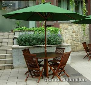 Jual Meja Payung Taman Jati Jepara 3 Meter