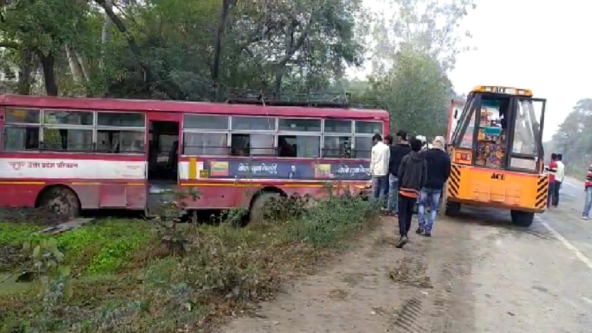 बिहार जा रहे पैदल मजदूरों को रोडवेज बस ने कुचला 6 लोगों की गयी जान