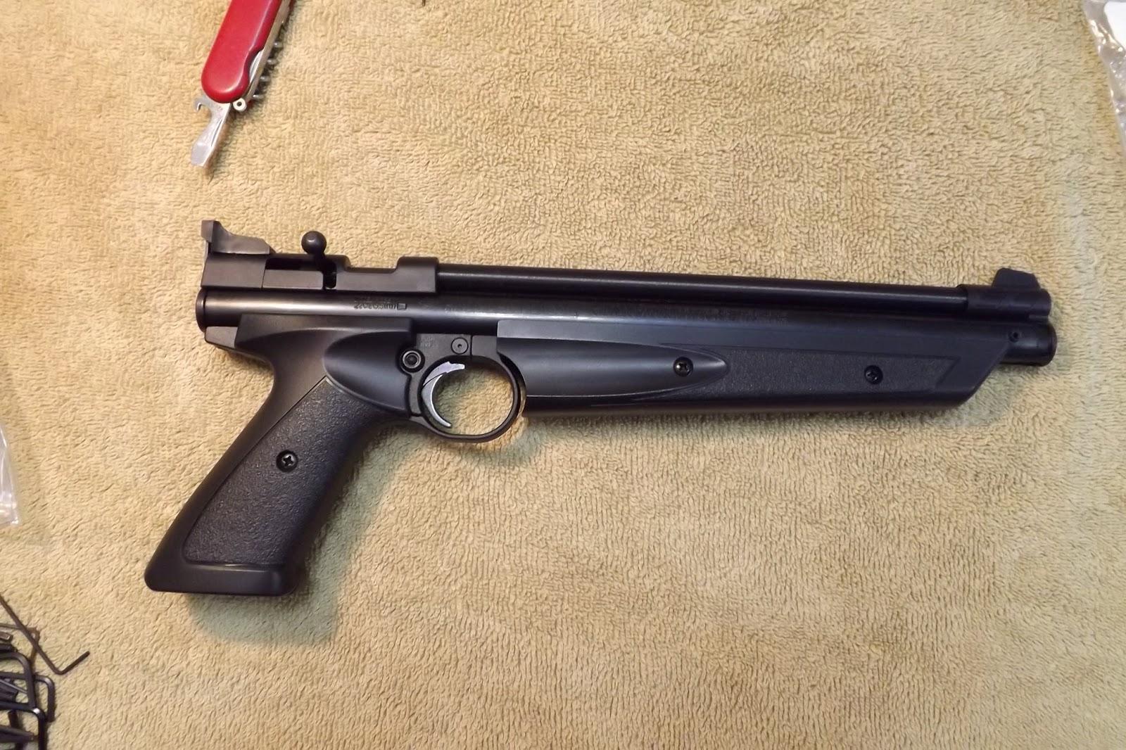 Hugh's Custom Air Guns: Crosman P1322 Carbine