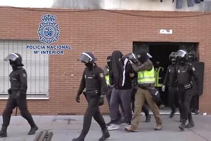 🔴 ورد الآن: الأمن الإسباني يعتقل زعيم خلية إرهابية مغربية في مدريد.