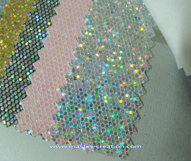holographic sequin fabric