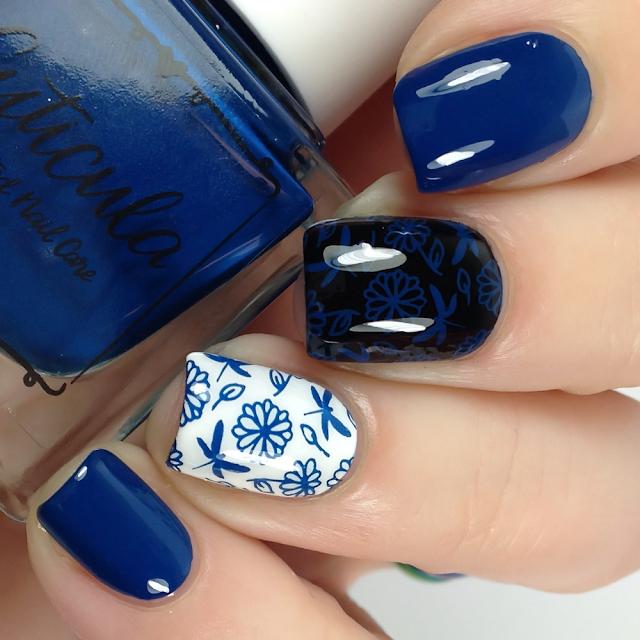 Cuticula-Blue Velvet