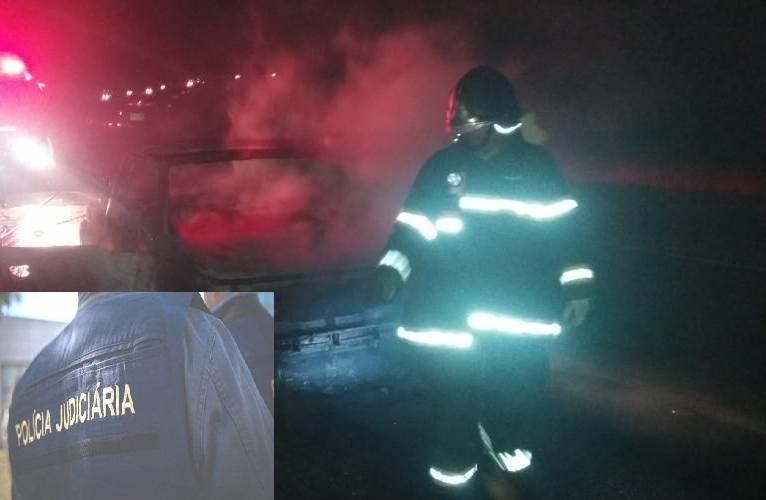 Carros ardem de madrugada em diferentes locais de Cascais