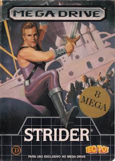 Jogue Strider para Mega Drive online grátis