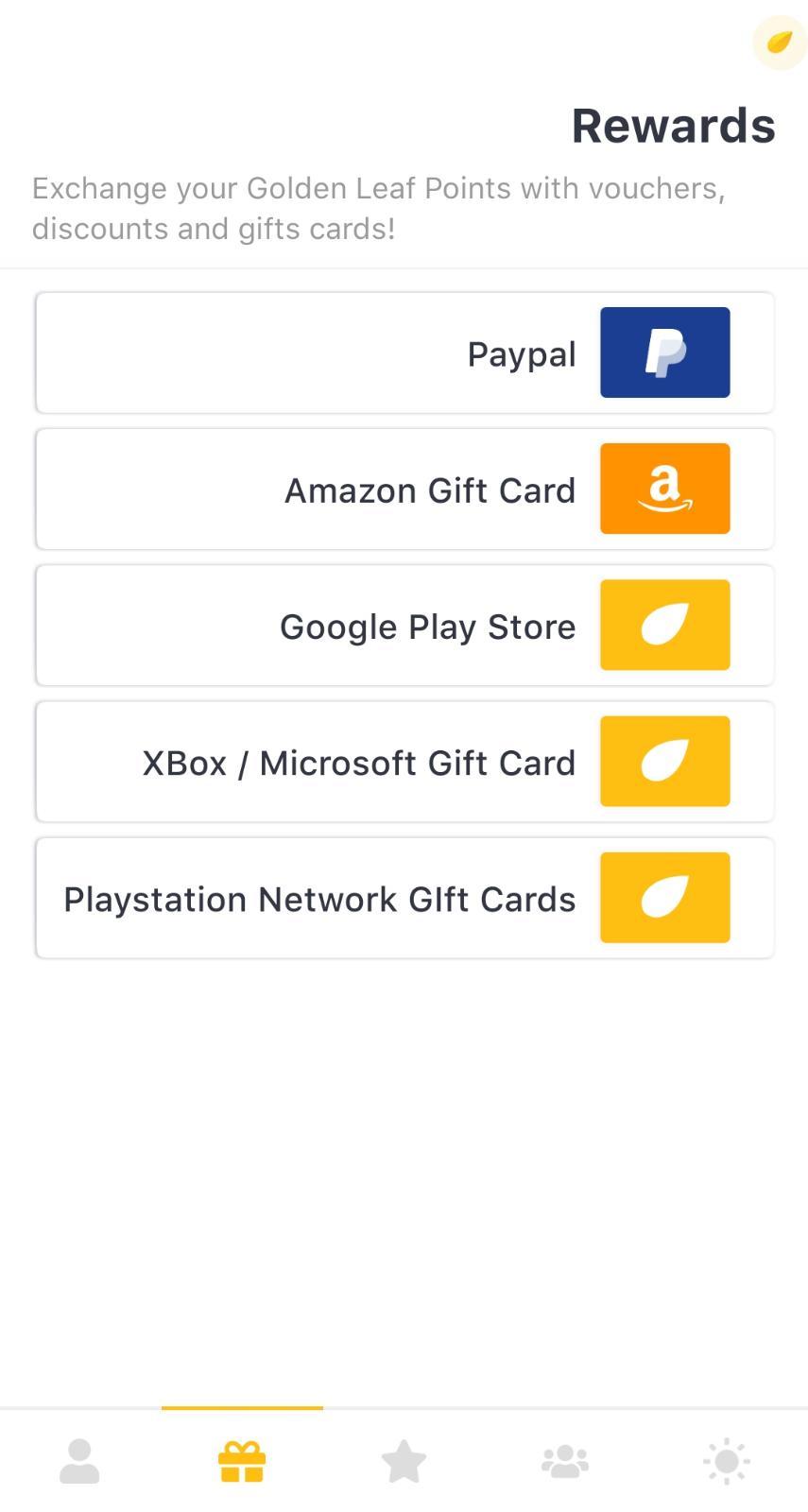 تطبيق رائع لربح رصيد باي بال مجانا + بطاقة جوجل بلاي 10$ + بطاقات امازون