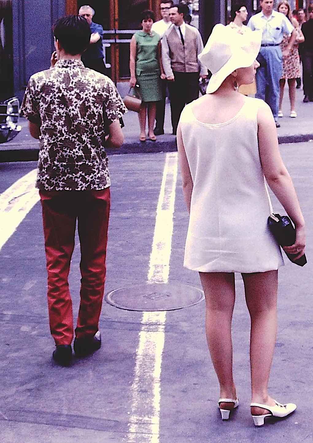 mod youth fashion in Canada 1967