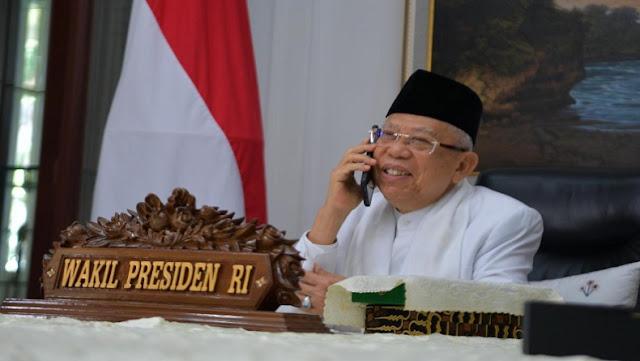 Saiful Anam: Maruf Amin Harus Hati-hati dengan Wacana Pergantian Wakil Presiden