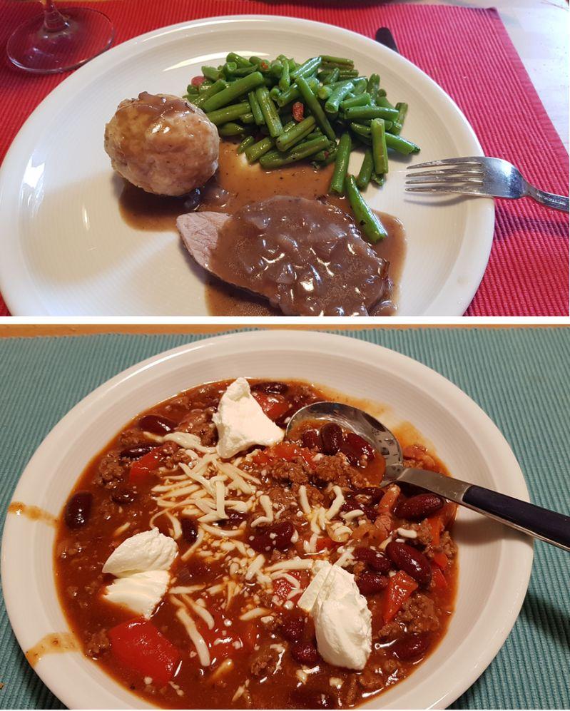 Rezeptvorschläge - What to eat - Challenge