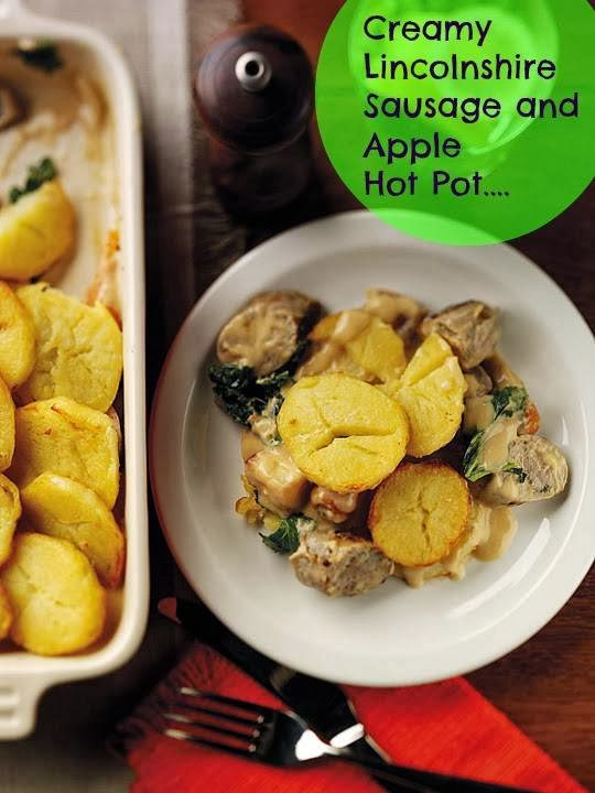 Creamy Lincolnshire Sausage And Apple Hot Pot