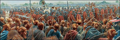 Idistaviso, Germánico, Arminio, desastre, Varo, legiones, romanos, germanos, bosque, Teutoburgo, Saltus, Teutoburgiensis, Kalkriese, Roma, Germania