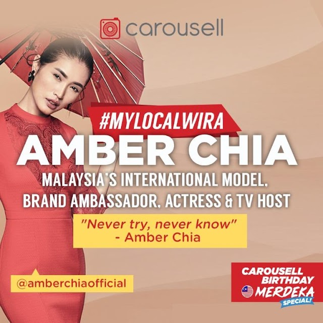 CAROUSELL CELEBRATES MALAYSIAN HEROES WITH #MYLOCALWIRA CAMPAIGN IN CONJUNCTION WITH MERDEKA DAY.
