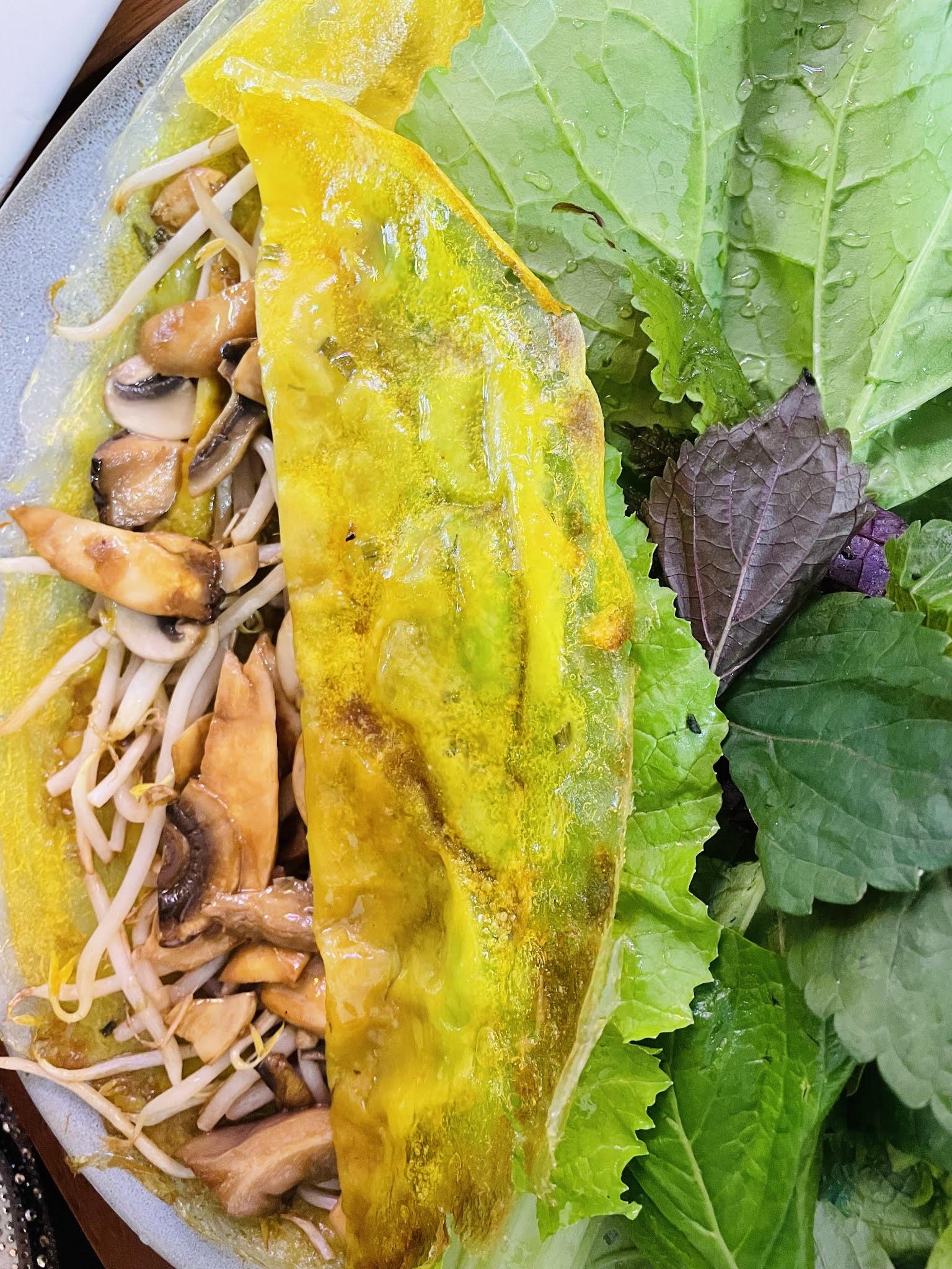 Bánh Xèo – czyli kokosowe naleśniki