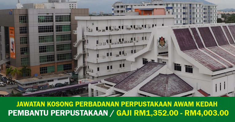 Jawatan Kosong di Perbadanan Perpustakaan Awam Kedah PPAK