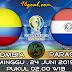 Prediksi Skor : Colombia vs Paraguay 24 Juni 2019