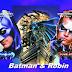 Batman y Robin: Invitaciones de Cumpleaños para Imprimir Gratis.