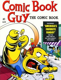 Bongo Comics presents Comic Book Guy: The Comic Book