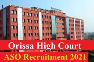 High Court ASO Job 2021