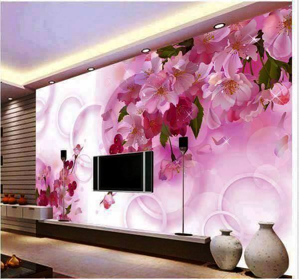 Wallpaper decoration ideas for living room - Care Decor