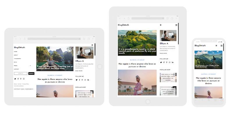 BlogOMath Responsive Design