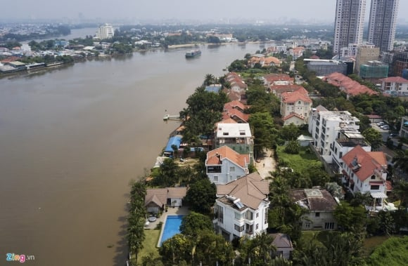 Biệt thự ở Thảo Điền bịt kín lối ra bờ sông Sài Gòn ảnh 7
