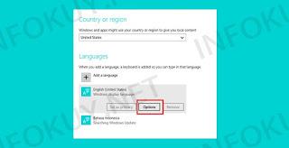 Setting Region and Language - Keyboard Laptop Tidak Berfungsi