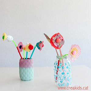 CreaKids: Flores Upcycling