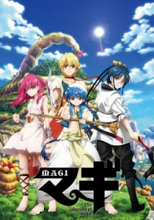 Baixar Magi: The Labyrinth of Magic Legendado Completo no MEGA