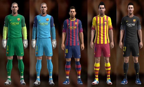 كل مايخص نادي برشلونة Barcelona+13-14+Kit+