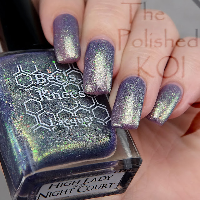 Bee's Knees Lacquer High Lady of the Night Court
