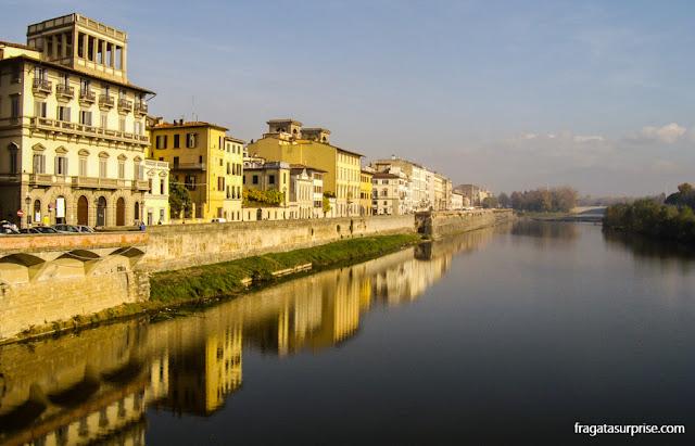 Rio Arno em Florença