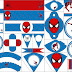 Kit de Spiderman para Imprimir Gratis.