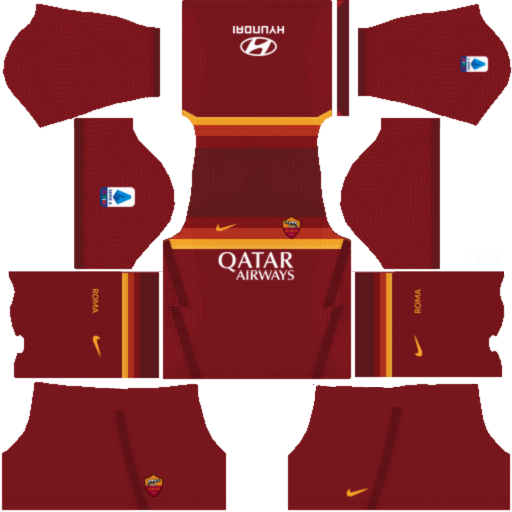 Kits AS Roma 2021 - Dream League Soccer 2019 & FTS