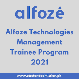 Alfoze Technologies Management Trainee Program 2021