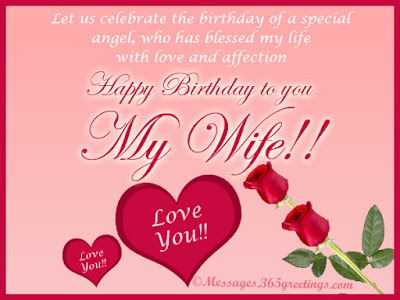 birthday wishes to wife from husband quotes