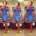 Creative Ankara Gown Style for Ladies