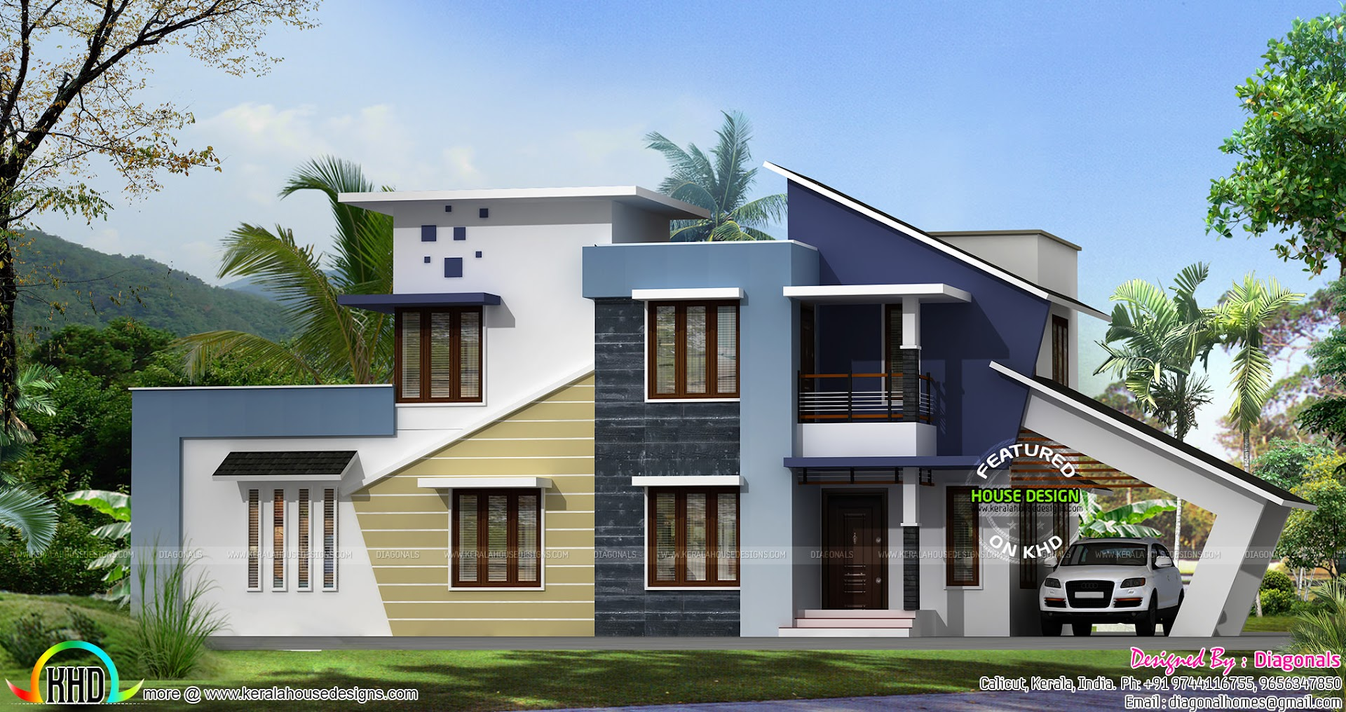 New generation home design - Kerala home design and floor ...